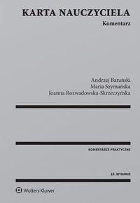 Karta nauczyciela Komentarz Barański
