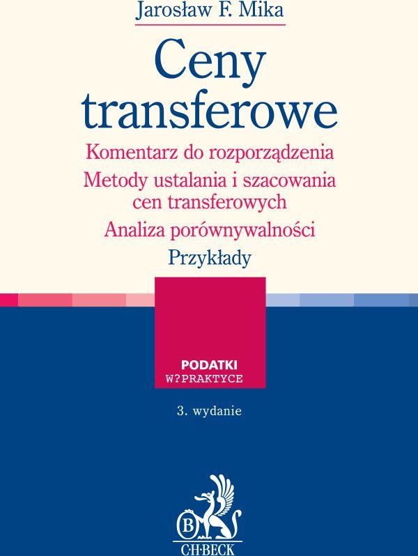 Ceny transferowe Komentarz do rozporządzenia