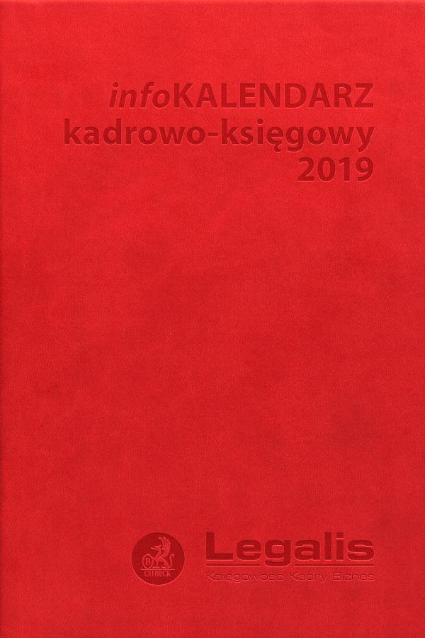 infoKALENDARZ kadrowo-księgowy 2019