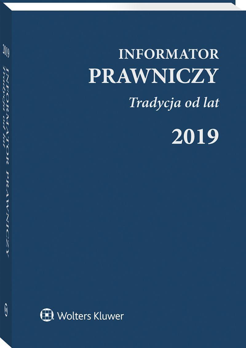 Informator Prawniczy Tradycja od lat 2019 granatowy (format B6)
