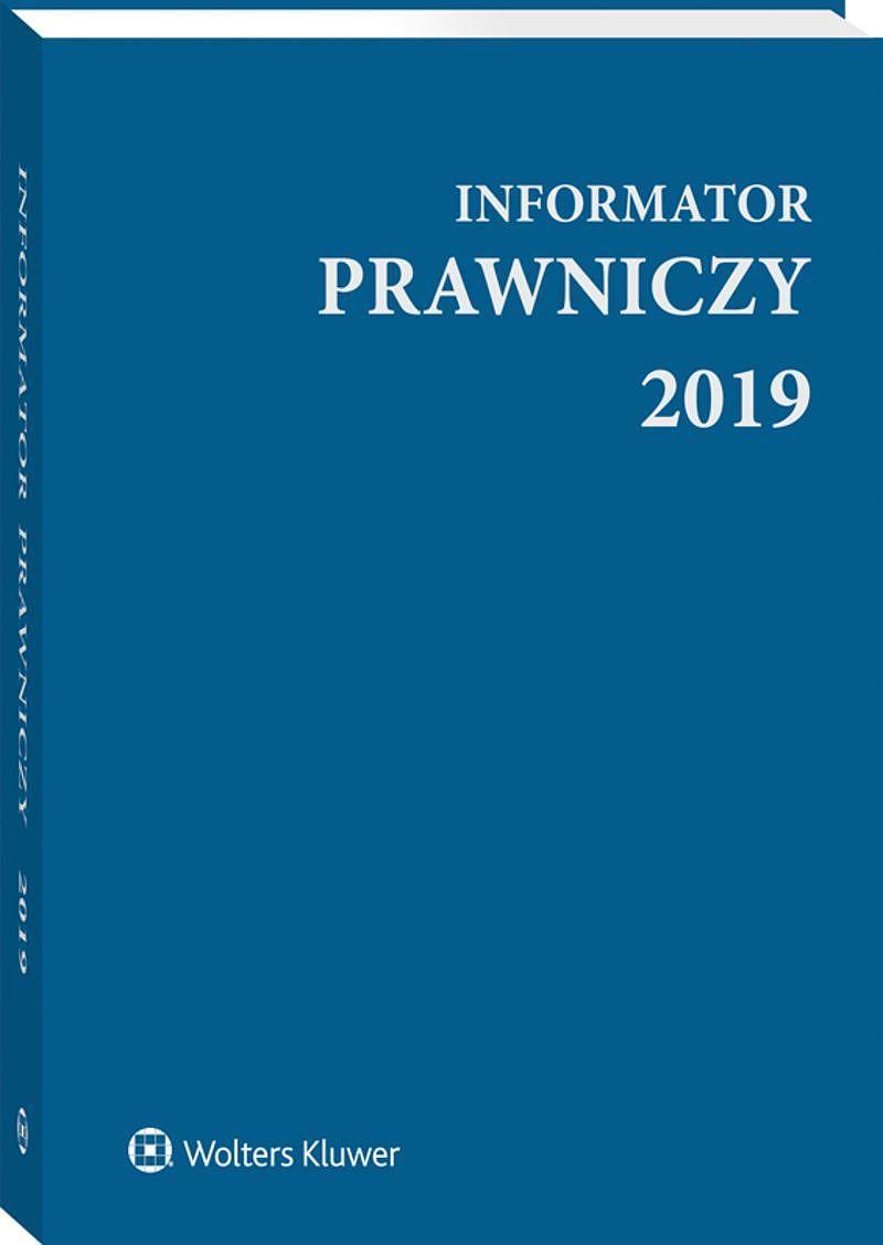 Informator Prawniczy 2019 niebieski (format A5)