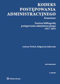 Kodeks postępowania administracyjnego Komentarz