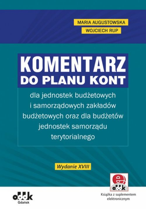 Komentarz do planu kont