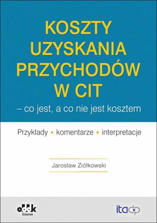 Koszty uzyskania przychodów w CIT