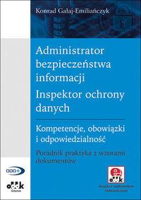 Administrator bezpieczeństwa informacji Inspektor ochrony danych