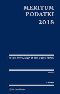 Meritum Podatki 2018