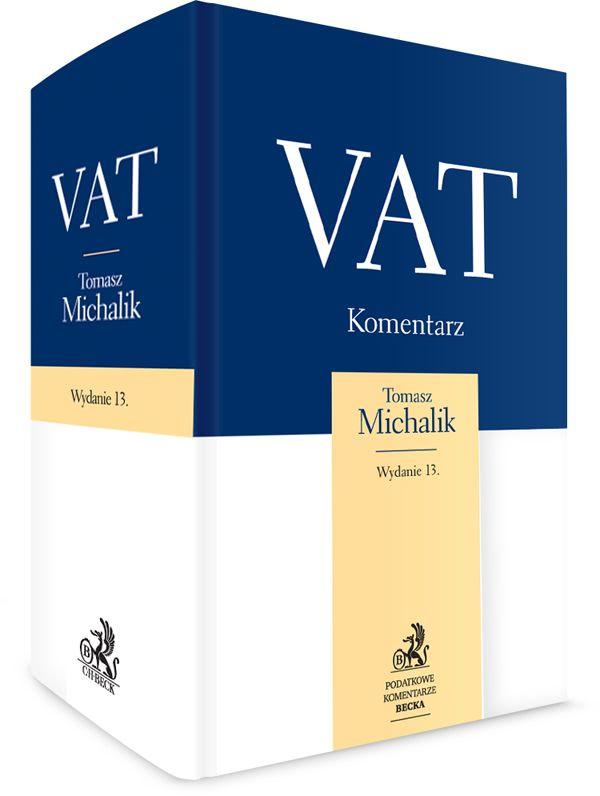 VAT Komentarz 2017 Beck