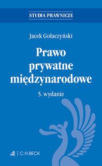 Prawo prywatne międzynarodowe Gołaczyński
