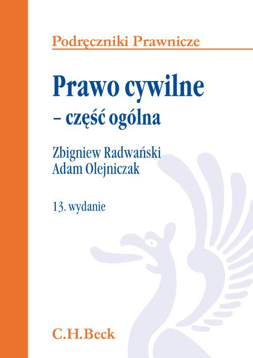 Prawo cywilne część ogólna Olejniczak