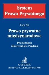 Prawo prywatne miÄ™dzynarodowe System Prawa Prywatnego Tom 20B