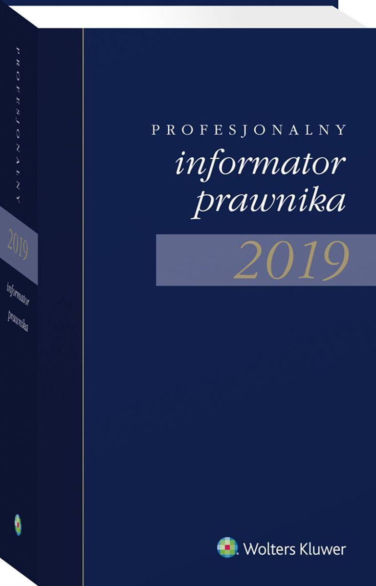 Profesjonalny Informator Prawnika 2019 granatowy (format zbliżony do A5)