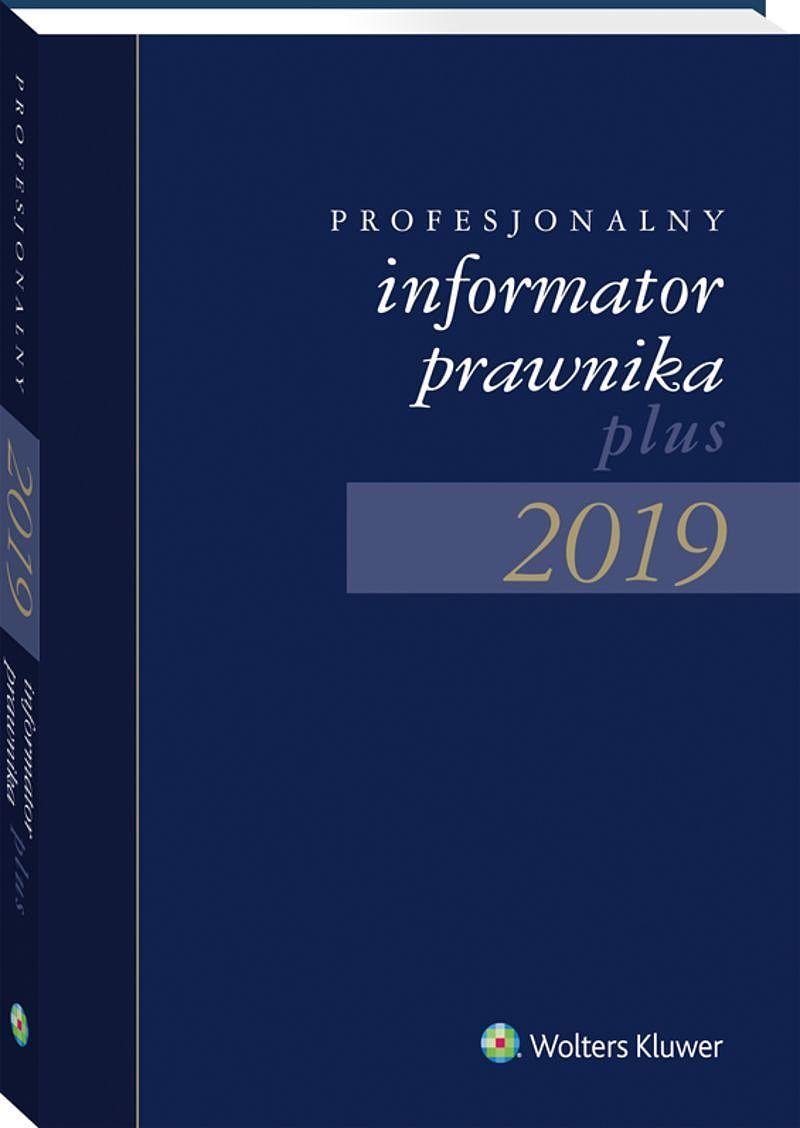 Profesjonalny Informator Prawnika Plus 2019 granatowy (format B5)