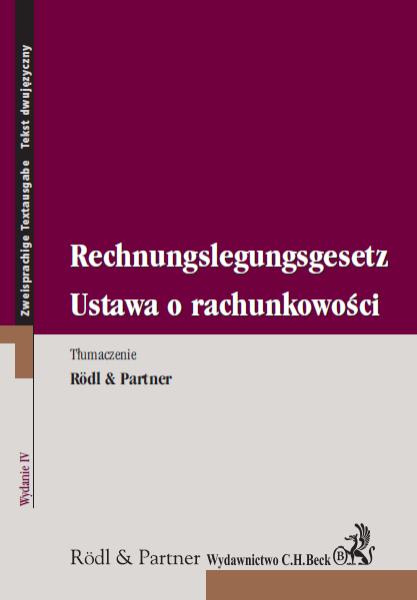 Ustawa o rachunkowości Rechnungslegungsgesetz