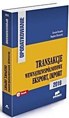 Transakcje wewnątrzwspólnotowe eksport import 2016