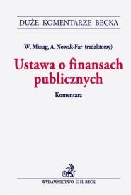 Ustawa o finansach publicznych Komentarz Misiąg