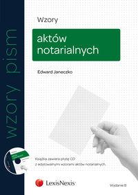 Wzory aktów notarialnych Janeczko