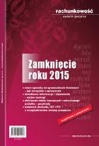 Zamknięcie roku 2015 Rachunkowość