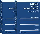 Kodeks spółek handlowych Komentarz Kidyba Tom 1 i 2