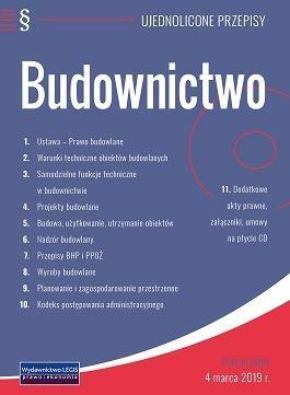 Budownictwo ujednolicone przepisy stan prawny 21 września 2020 roku plus płyta CD