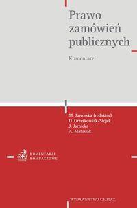 Prawo zamówień publicznych Komentarz Jaworska